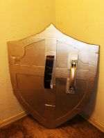 The Legend of Zelda Shield IV (Rear View) by Gryphon009