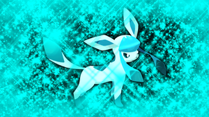 Glaceon Wallpaper by Glench