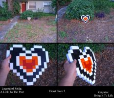 Heart Piece 2 from LOZ: A Link To The Past by Minatek616