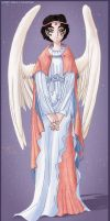 Design - Ministering Angel by MPsai
