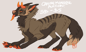 Canine Monster Auction by LiLaiRa