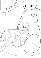 Chilling - Big Hero 6 by Cool-Kimmy
