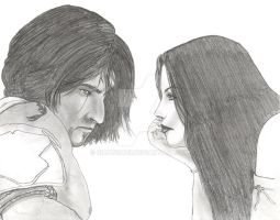 Prince of Persia and Empress by simonsaz3
