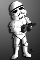 Stormtrooper by JimmyCartoonist