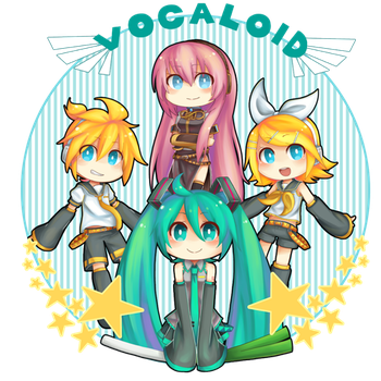 Vocaloid! by lolitaii