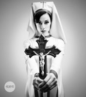 Crucifix by RubyJ