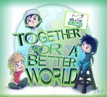 FOR A BETTER WORLD by WhiteLeyth
