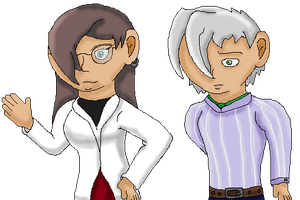 Ms. Davi and Mr. White by Dianamond