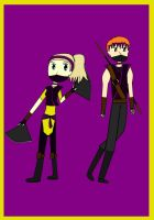 TMNT Future: Ninjas May and Taylor by cupcakeforever18