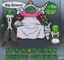 It's not easy being green! by LargerYeti