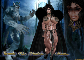 LYCAN HUNTRESS PREVIEW by SLMUSCLE