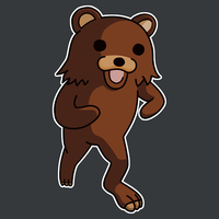 Pedobear Vector by kb1