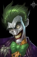 Arkham City: The Joker by Bing-Ratnapala