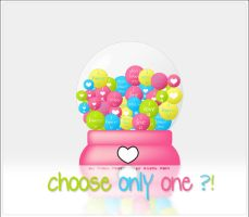 choose only one .. by SilentPain0