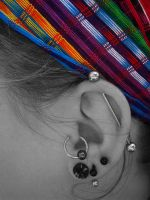 My Piercings by LaurenCoakley