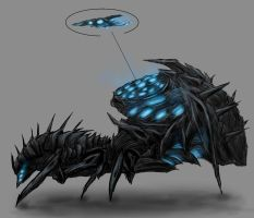 Sovereign Swarm Launcher Concept by SwarmCreator