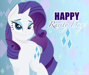 Rarity Day by TrebleSketchOfficial
