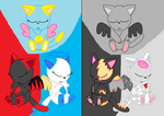 team kitty and team undead by pokemonlpsfan