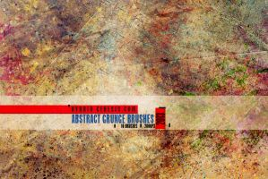 HG Abstract Grunge Brushes by In5omn1ac