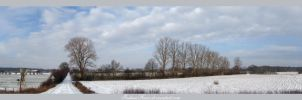 Winter Panorama by IndianRain