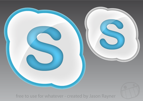 Skype Icons - .icns and .png by jasonrayner
