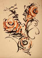 Calligraphic 2 by parmentides