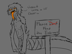 Please Don't Feed the Endermen by Dragonvoremors