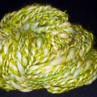 Green Mohair by Halaylah