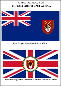 British South East Africa Flags by ImperatordeElysium
