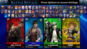 PlayStation All-Stars Round 2: Roster V2 by LeeHatake93