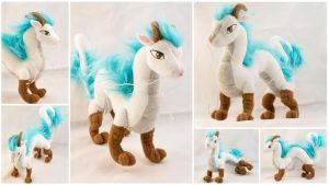 Haku Plushie by BeeZee-Art
