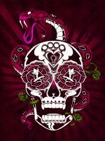 SKULL'n'ROSES by DZNFlavour