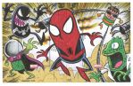 Spider-Man and friends commission by thecheckeredman