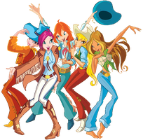 Winx Club  group  PNG by BrokenHeartDesignz