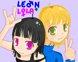 Leon and Lola by Leon-Vocaloid