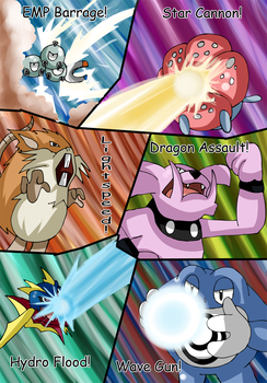 Legend of the Lake Orbs comic commission 146 by hikariangelove