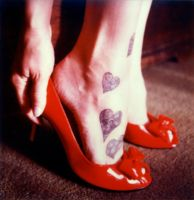 Red shoes and Tatoos 3 by robbie-munn