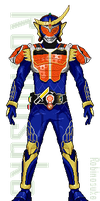 KAMEN RIDER GAIM [scale up] by robinosuke