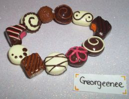 Chocolate creams by PORGEcreations