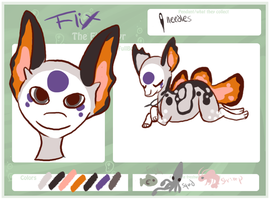 Flix Reference Sheet by Kama-ItaeteXIII