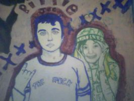 BILLIE JOE and fan by angel-gabriel989
