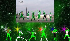 Legendary Green Ranger Mode by rangeranime