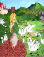 Fairy Tale V: The Wild Swans by ElyonHeart