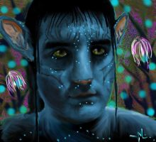 Pat the Na'vi by LilithVallin