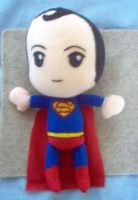 Plush of Baby proof  Superman by CuteGio