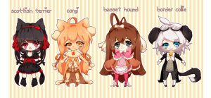 Puppy Adoptable Set [closed] by icurunin