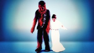 Carrie Fisher Princess and the Wookie 2 Step by Dave-Daring