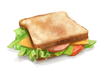 Food Series #1: Sandwich by peroro
