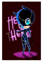 Catwoman (chibi) by favius