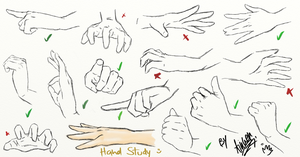Sketch: Hand Study by Ainwen27